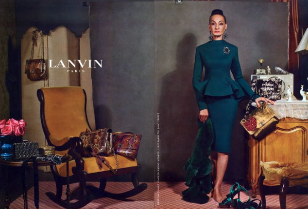 Jacquie Murdock for Lanvin