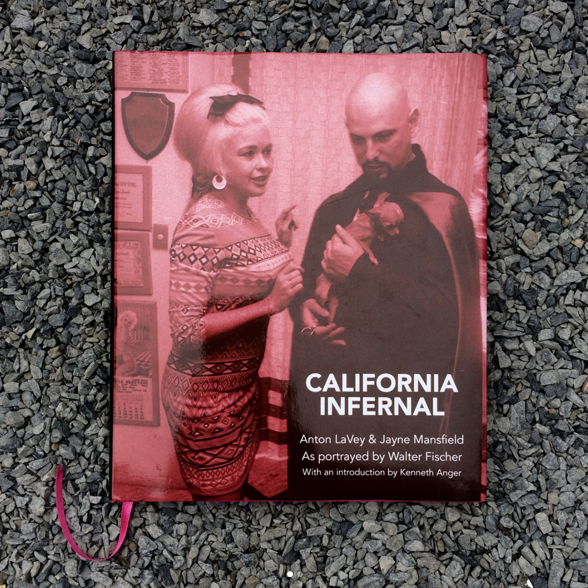 When Jayne Mansfield met the Church of Satan's founder! Via Instagram/@artbookps1