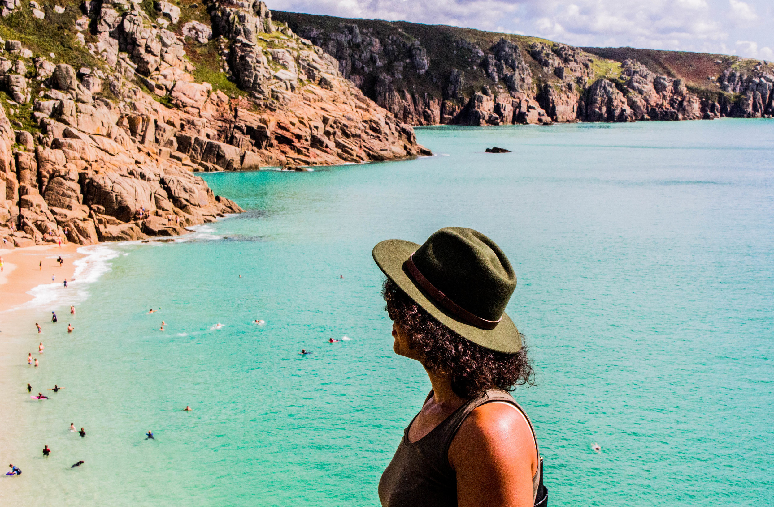 Holidays are the perfect way to chill out but the suggestions below are a lot cheaper... Taken at Porthcurno Beach, Cornwall