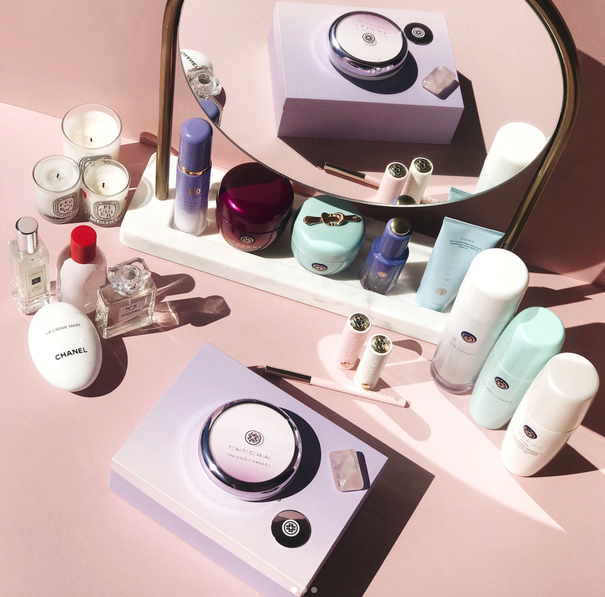 EPIC beauty collection goals via @sortofobsessed!