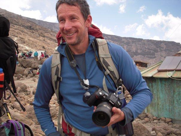 Me climbing Kilimanjaro back in 2009.