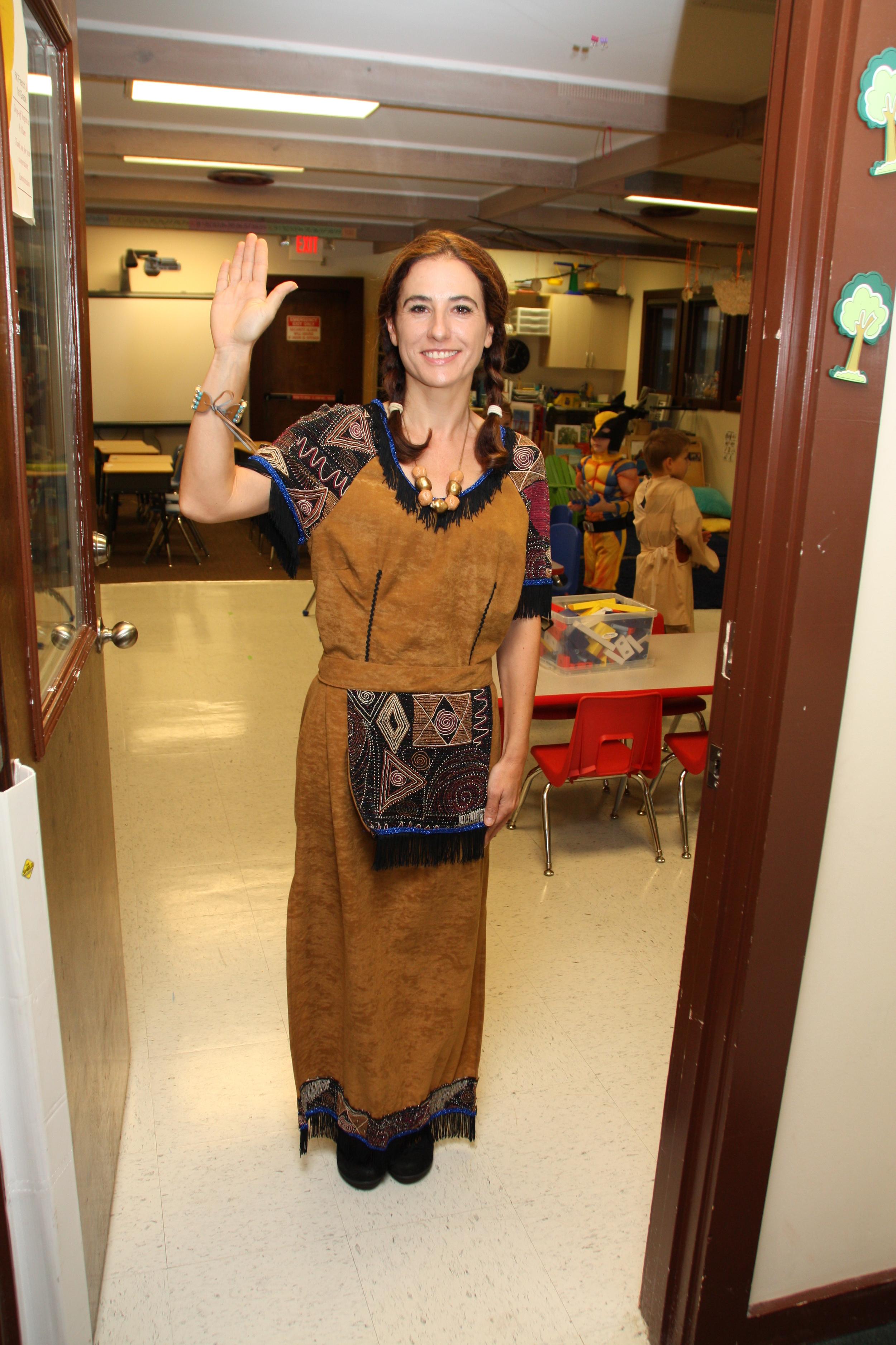 Mme Celine-indian.JPG