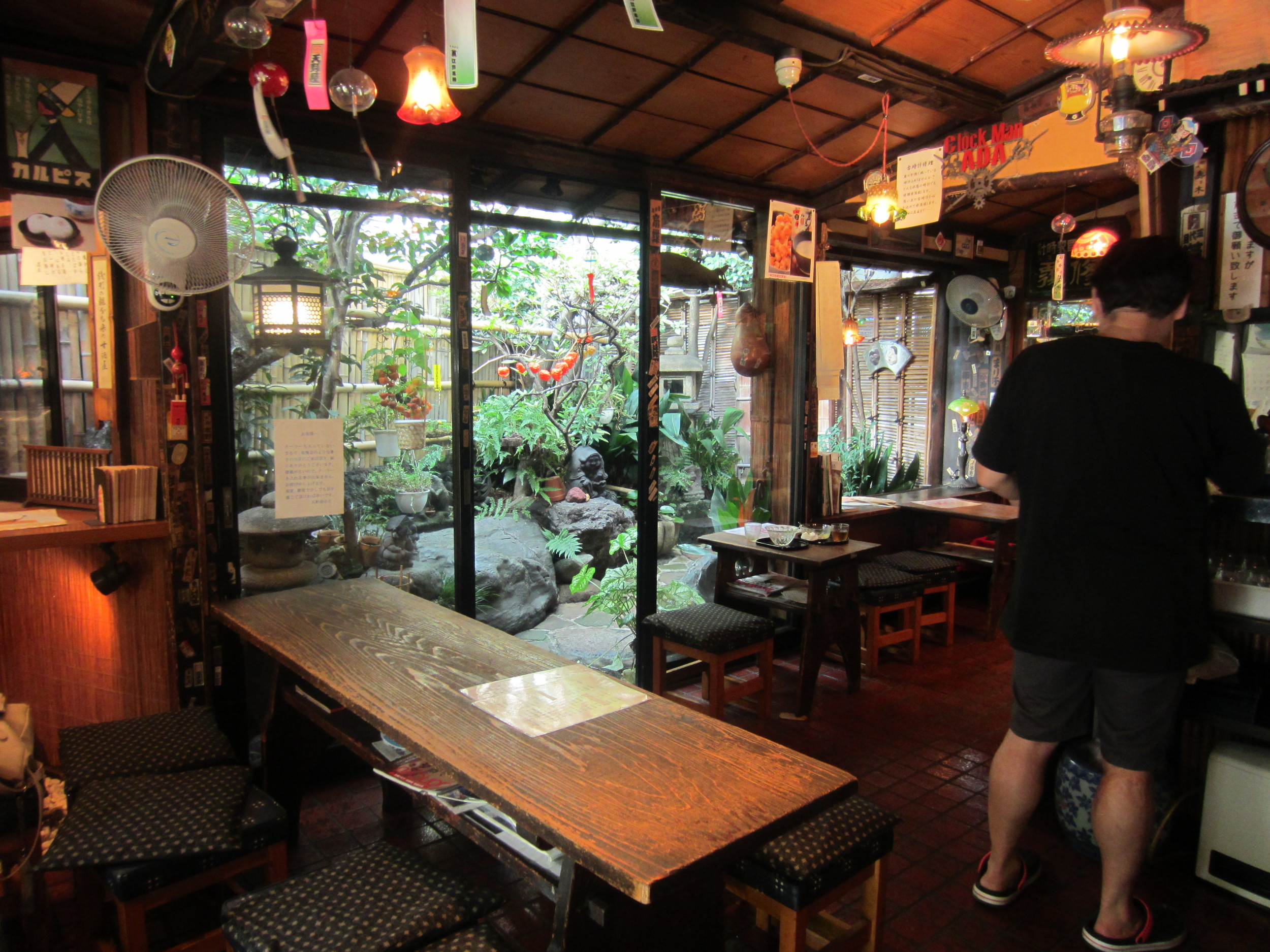 Amanoya includes a beautiful little cafe where we sampled some fantastic amazake, a traditional fermented rice drink.