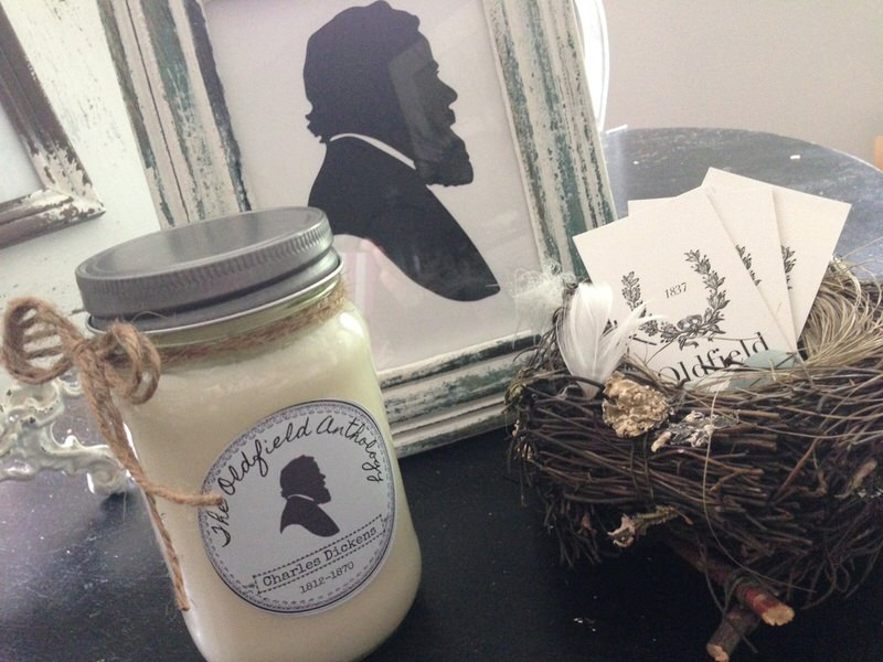 """Infused with rosemary essentialoil, Charles Dickens has an earthy, fresh-from-the-herb-garden scentwith a slight nod to the winterbalsam's of """"A Christmas Carol."""""""