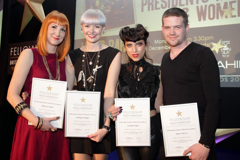 After I was announced onto FAME Team at the December 2011 luncheon with my fellow team mates- Rebecca Hunt, Isabella Hyde and Ryan Harris