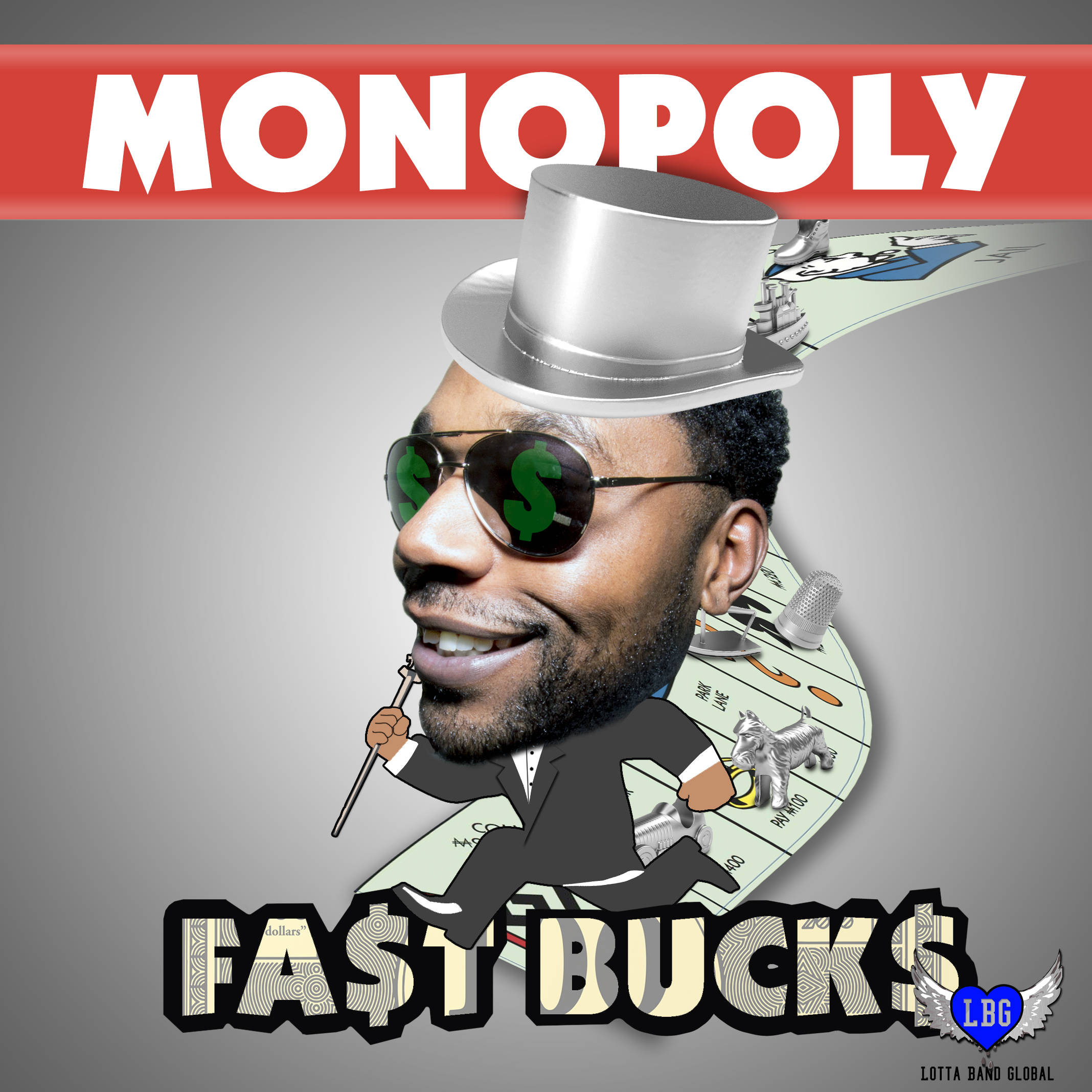 FA$T BUCK$ Mixtape Cover