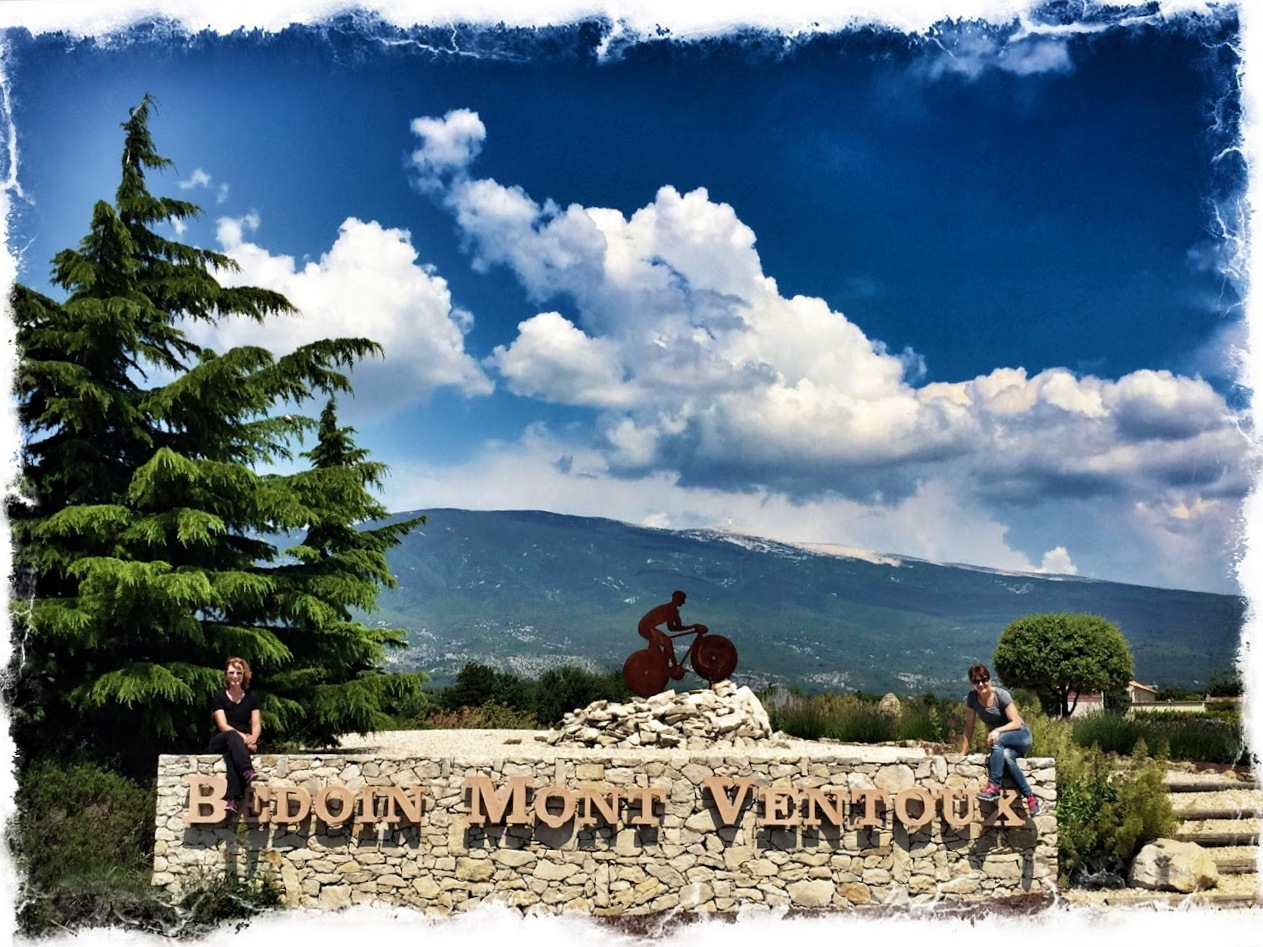 The Ventoux is a mecca for wine and cycling enthusiasts!