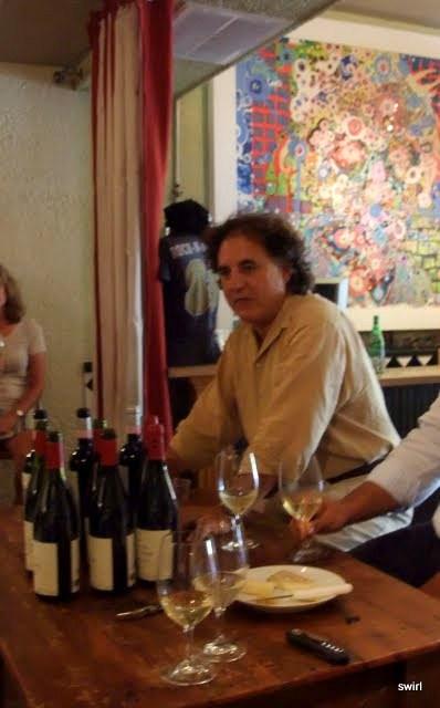 Marco De Grazia presenting at Swirl