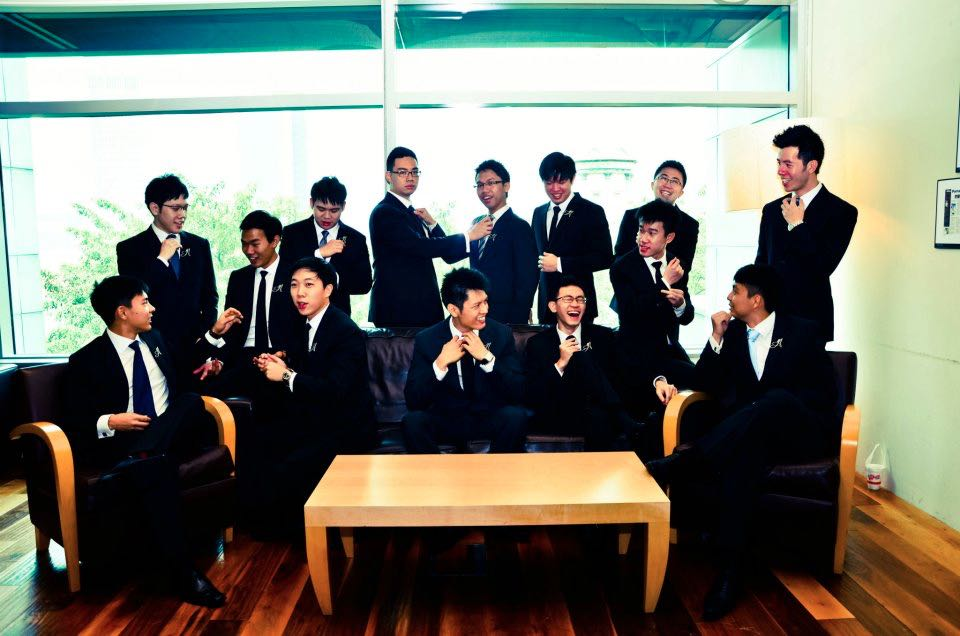 """ASMU fellas in our 2013 photoshoot"""