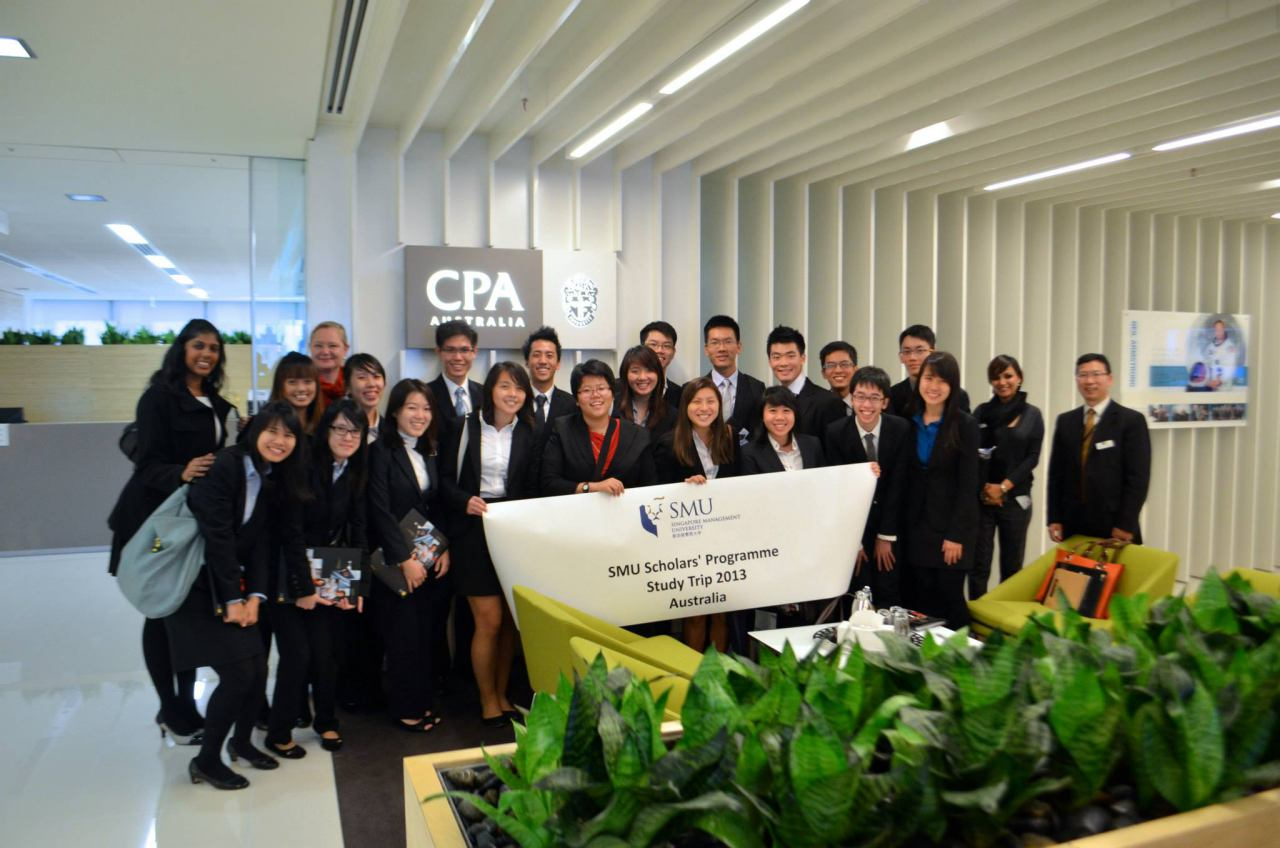 A group picture at CPA Australia.