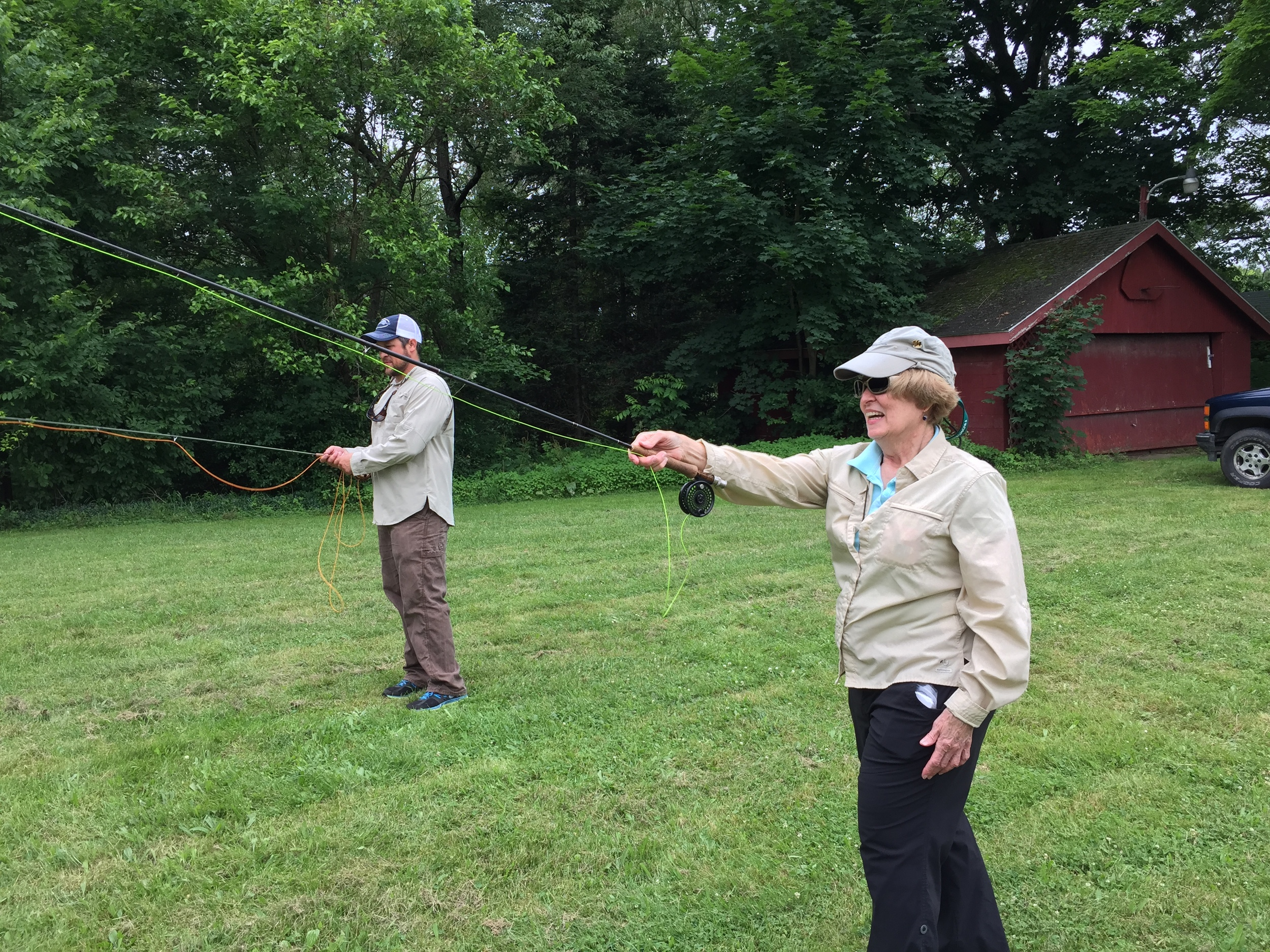 WANT TO LEARN TO FLY FISH?