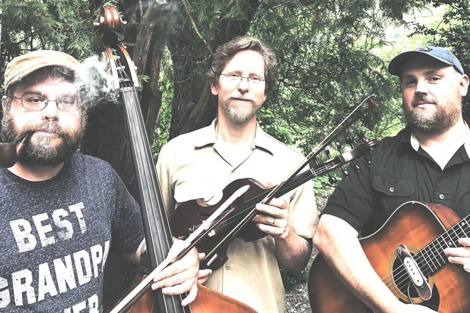 Eight Point Star: New trio of fiddler Mike Gangloff from Pelt and Black Twig Pickers with stringbenders Matt Peyton and F.M. Turner. Unapologetic ruralism and ecstatic improv, back porch chug crossed with drone science, pushing out toward the cosmic yonder.