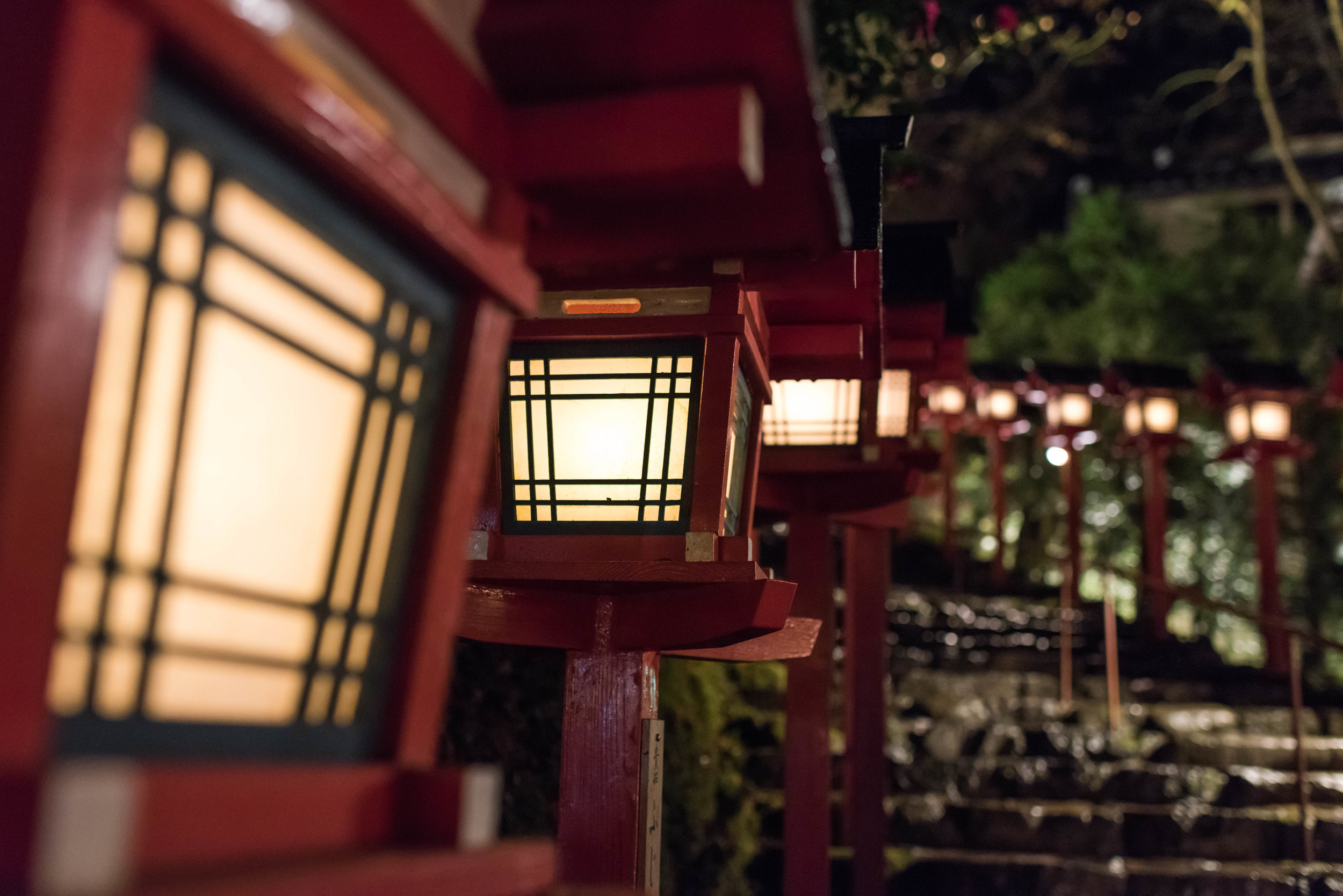 Kifune shrine, Kyoto, Japan (2017)