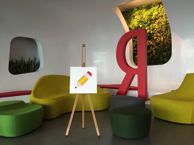 Creativity ✏️      Acrylic, canvas,40x40 cm .May 2015