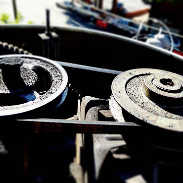 #pulleys and #belt  The #Art of #Atlanta #Airconditioning