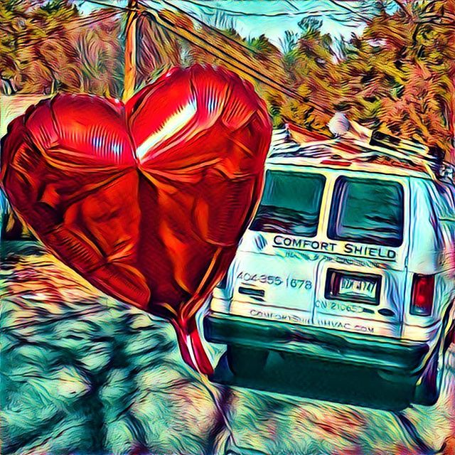 Happy Valentine's Day!  The #art of #atlanta #airconditioning for your #valentines