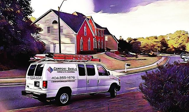 It's always a beautiful, cool evening with Comfort Shield. The #art of #atlanta #airconditioning