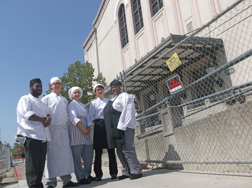 Culinary Arts Students from Laney College