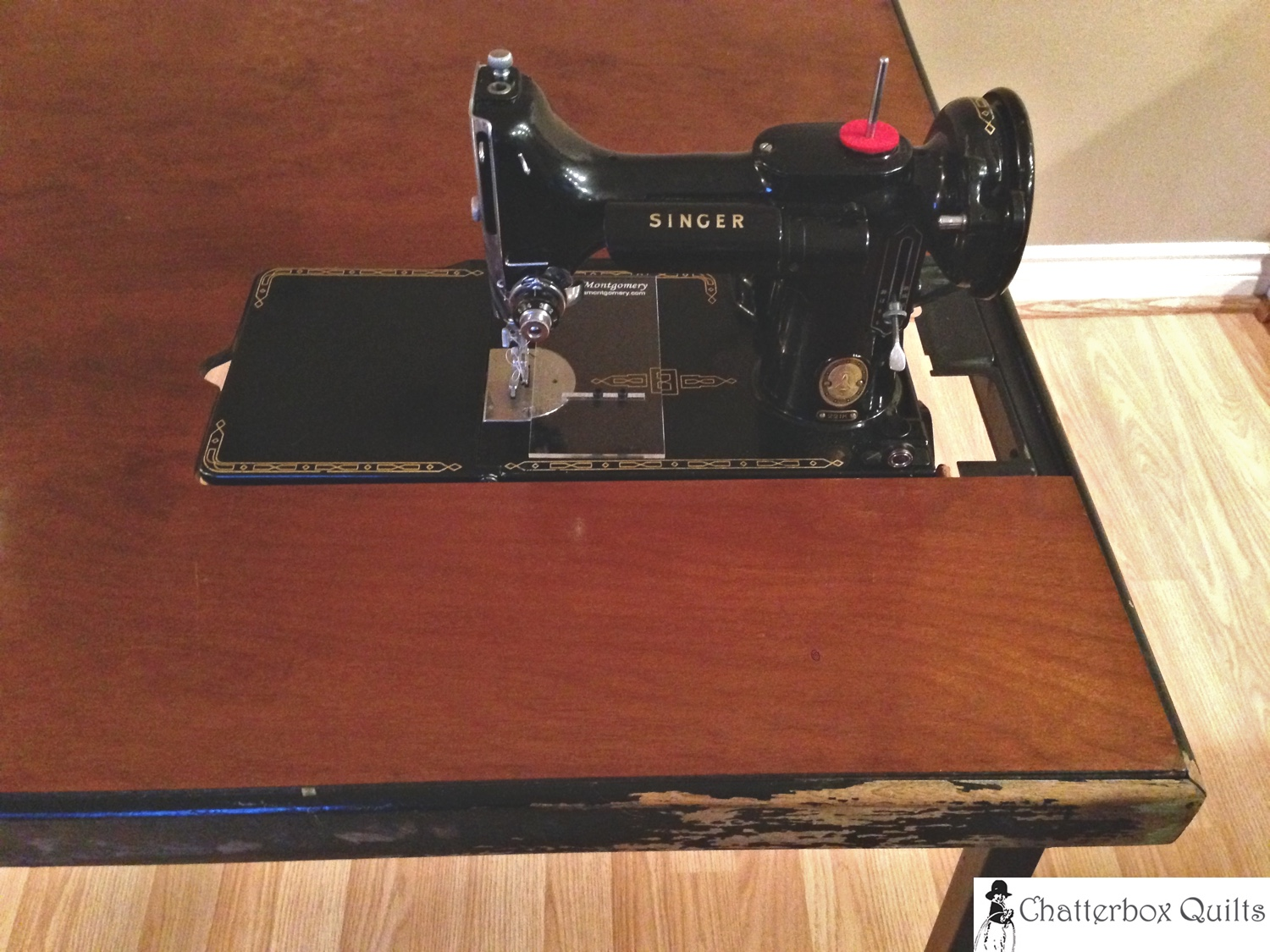 Singer Featherweight in Card Table