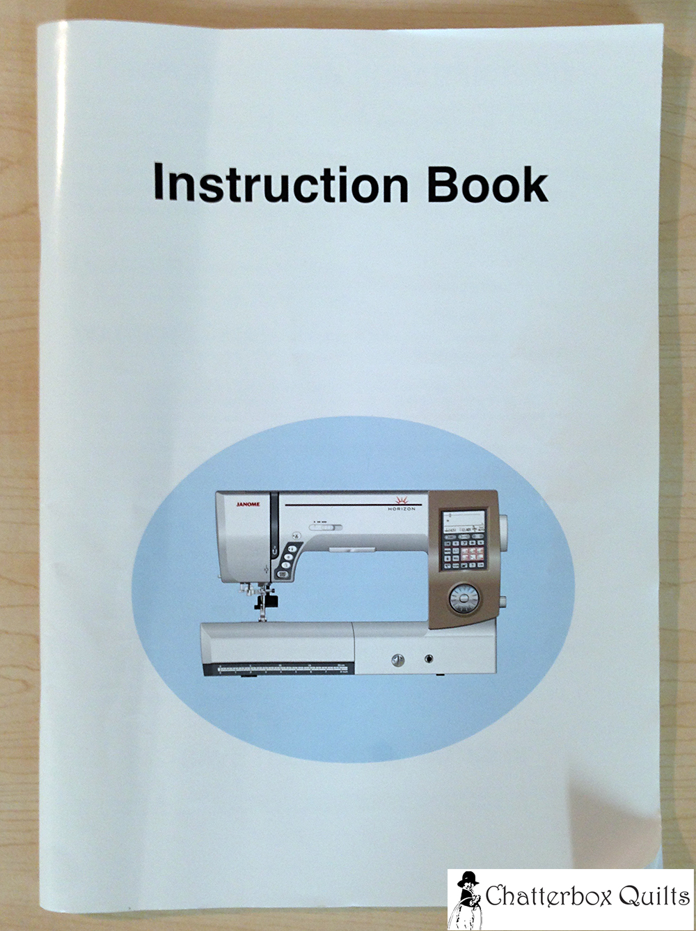 You should always have your sewing machine's manual close at hand.