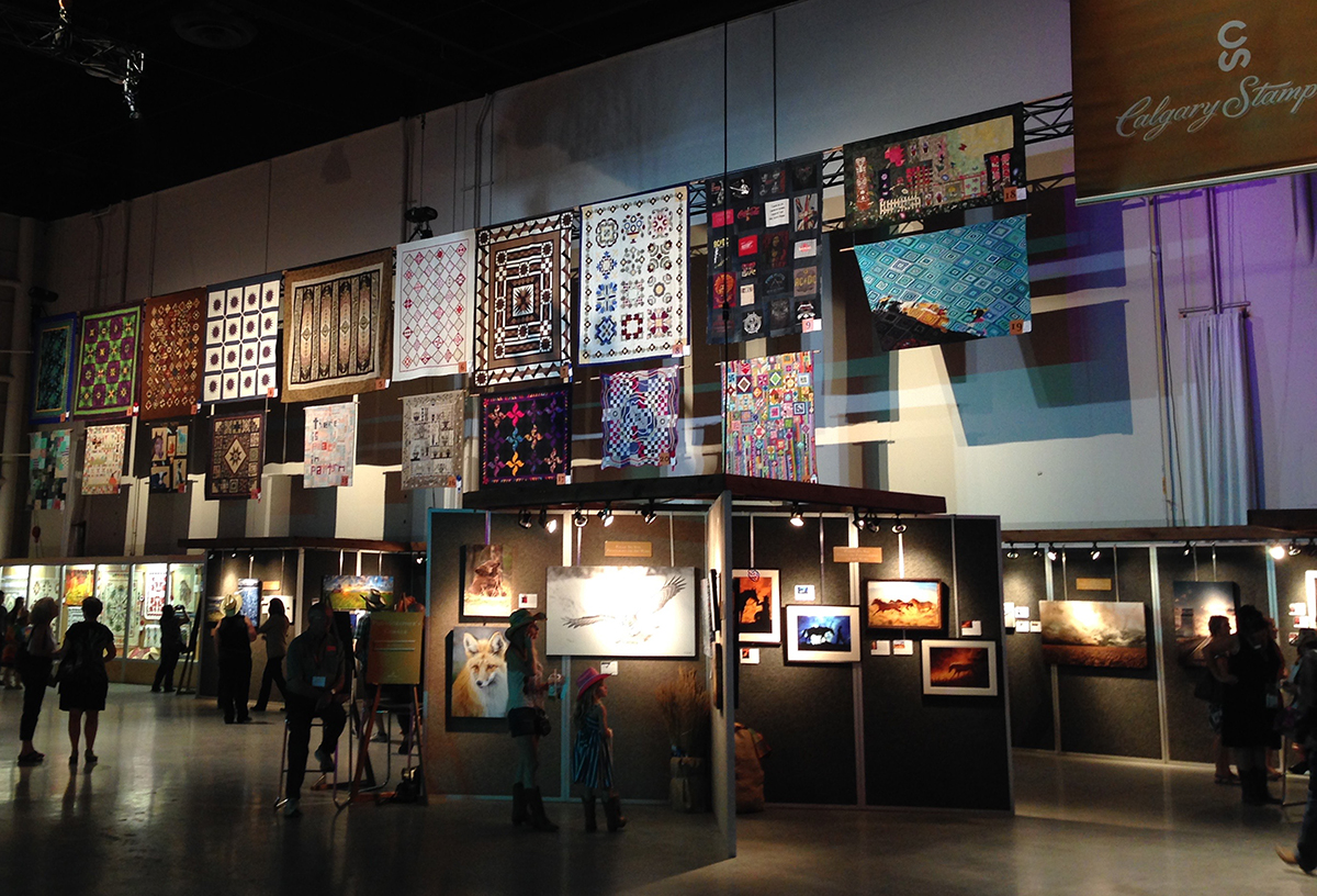 An overview of the quilt entries.