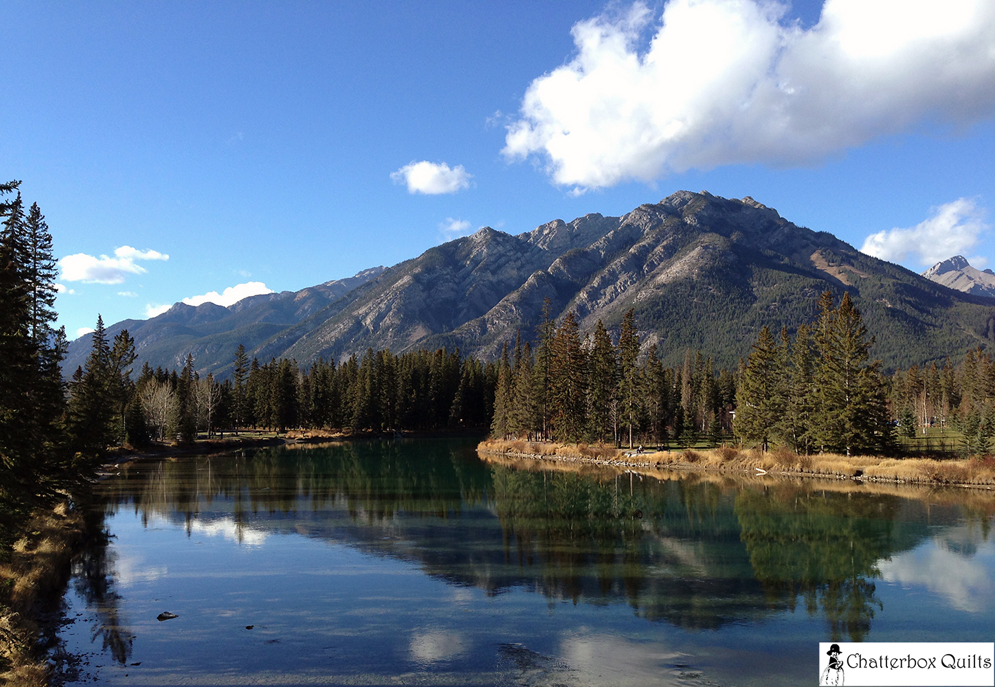 The Bow River - I love this photo!