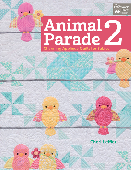 From Animal Parade 2 by Cheri Leffler, Martingale, 2015; used by permission. Photography by Brent Kane. All rights reserved.