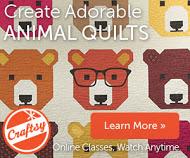 Patchwork Piecing: Woodland Animals with Elizabeth Hartman
