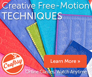 Creative Free Motion Techniques with Lori Kennedy