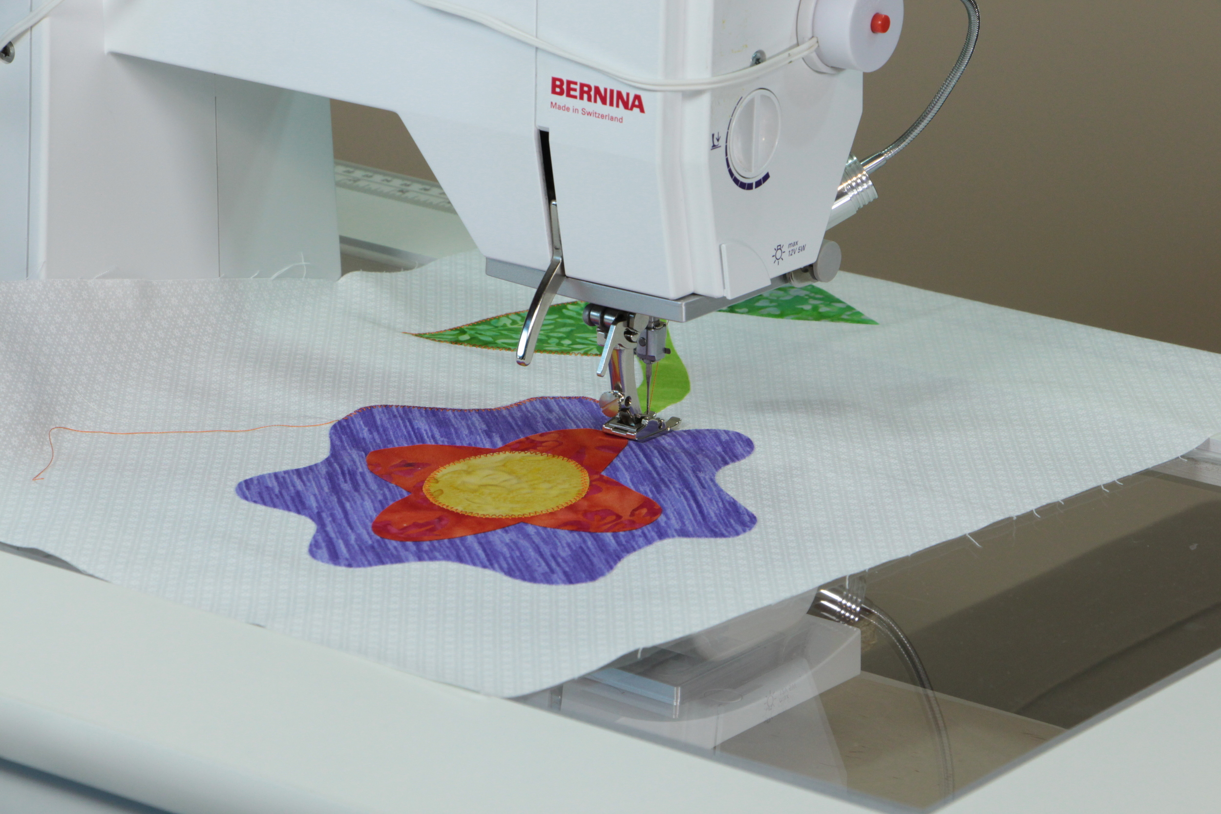 Awesome Blossom project in The Essential Guide to Fusible Web Appliqué