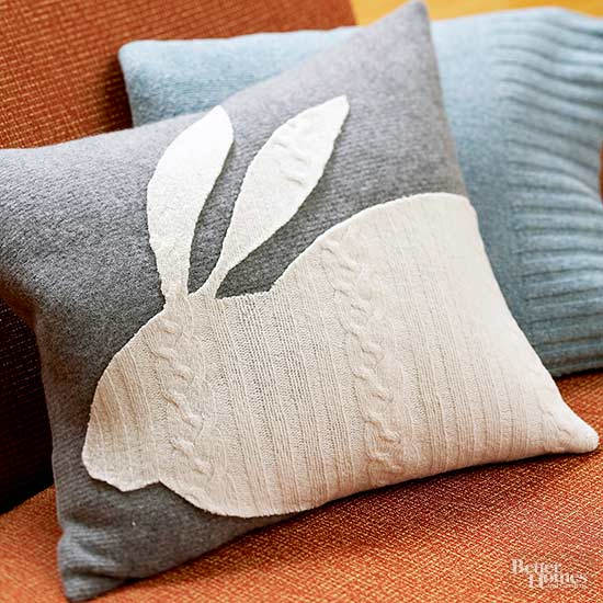 Easter Bunny Pillow from Better Homes & Gardens