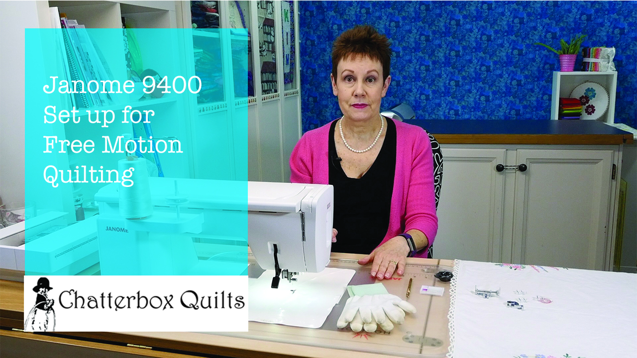Janome free motion quilting set up.jpg