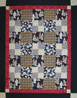 Pattern is Chock a Block by Chatterbox Quilts