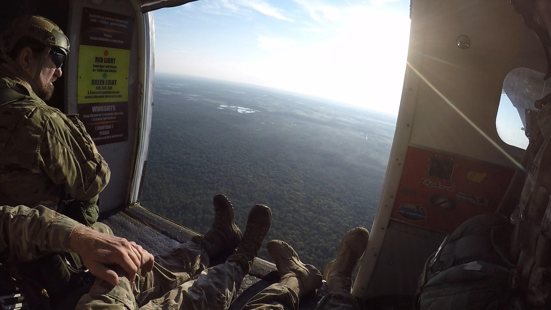 Paratrooper Sunrise!