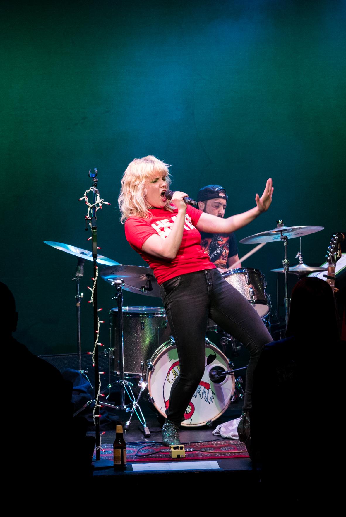 Rock Goddess Tessa Skara