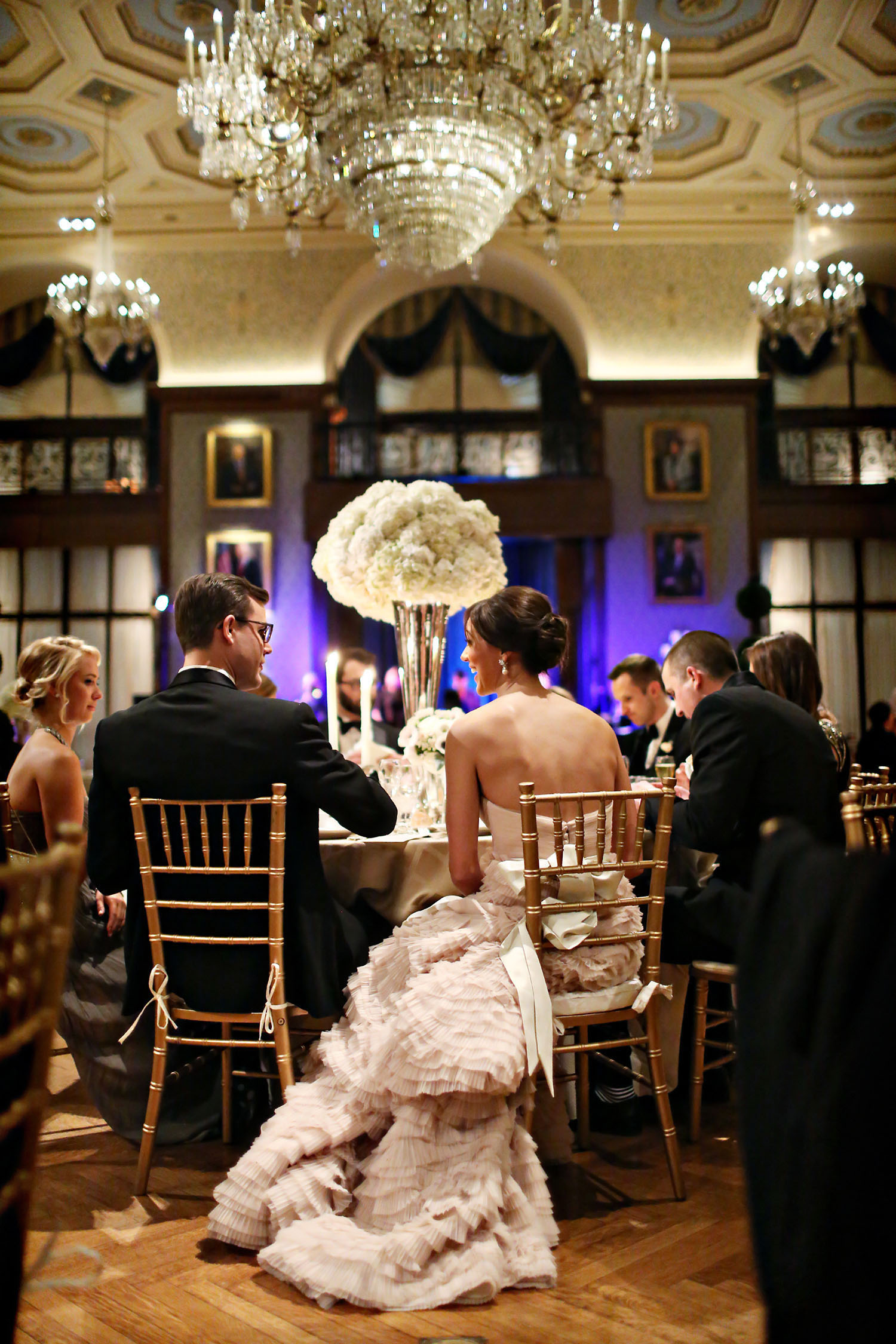 Alison Conklin Photography   |  Wedding Reception  |  The Union League, Philadelphia, PA