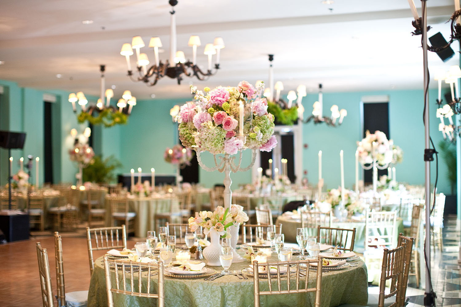 Laura Novak Photography   |  Wedding Reception  |  Congress Hall, Cape May, NJ