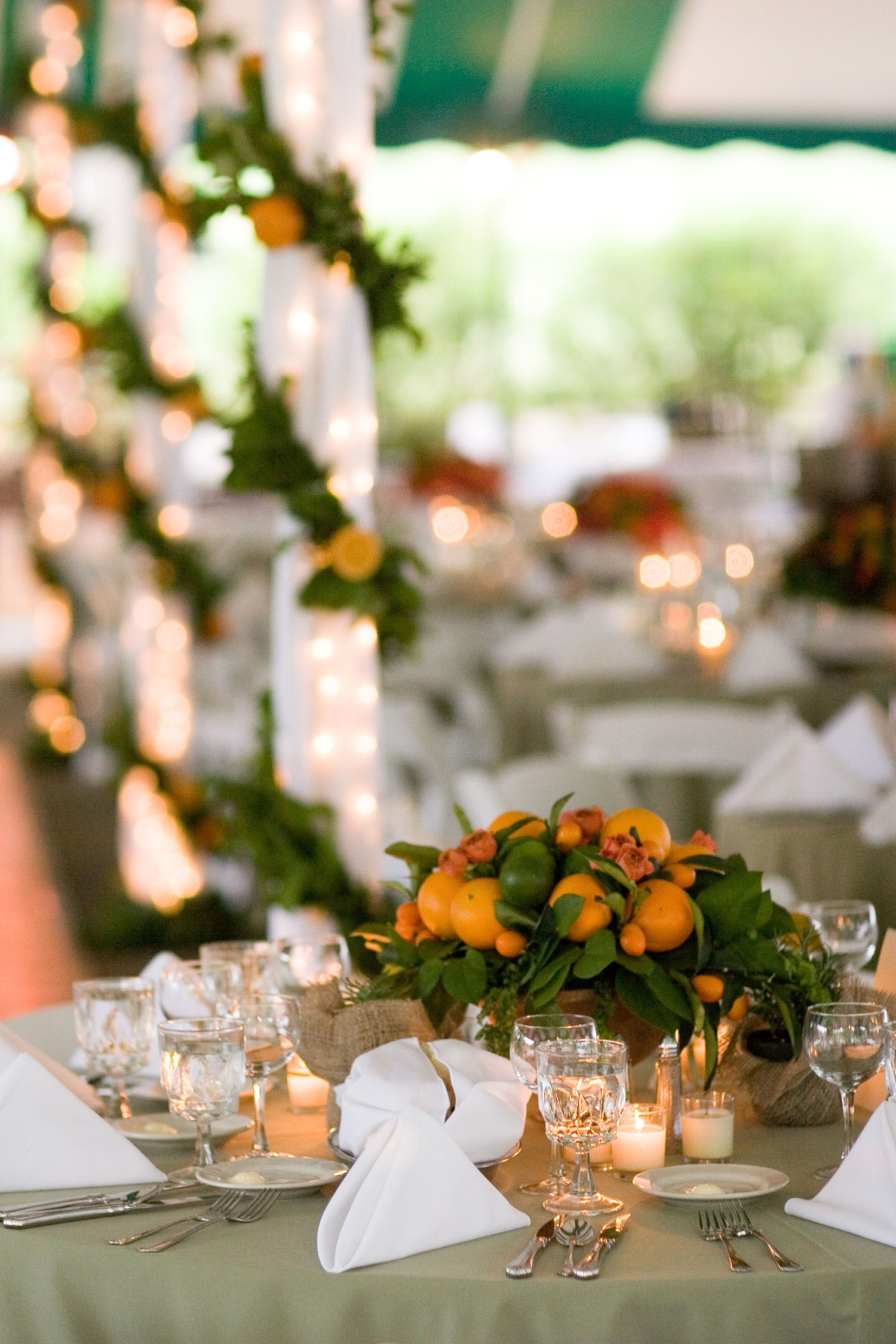 Wedding Reception  |  Merion Golf Club, Ardmore, PA