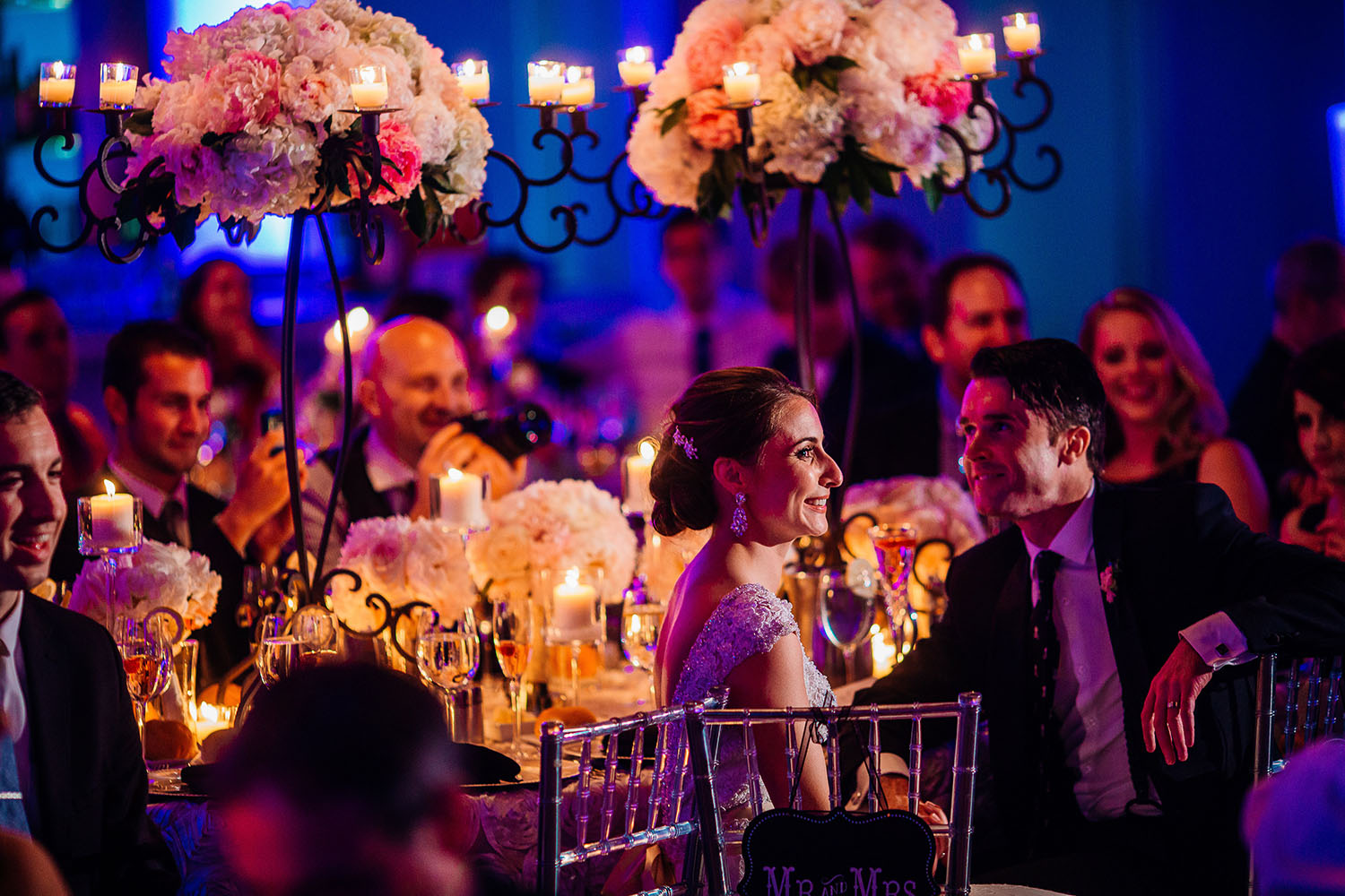 Hoffer Photography   |  Wedding Reception  |  Tendenza, Philadelphia, PA