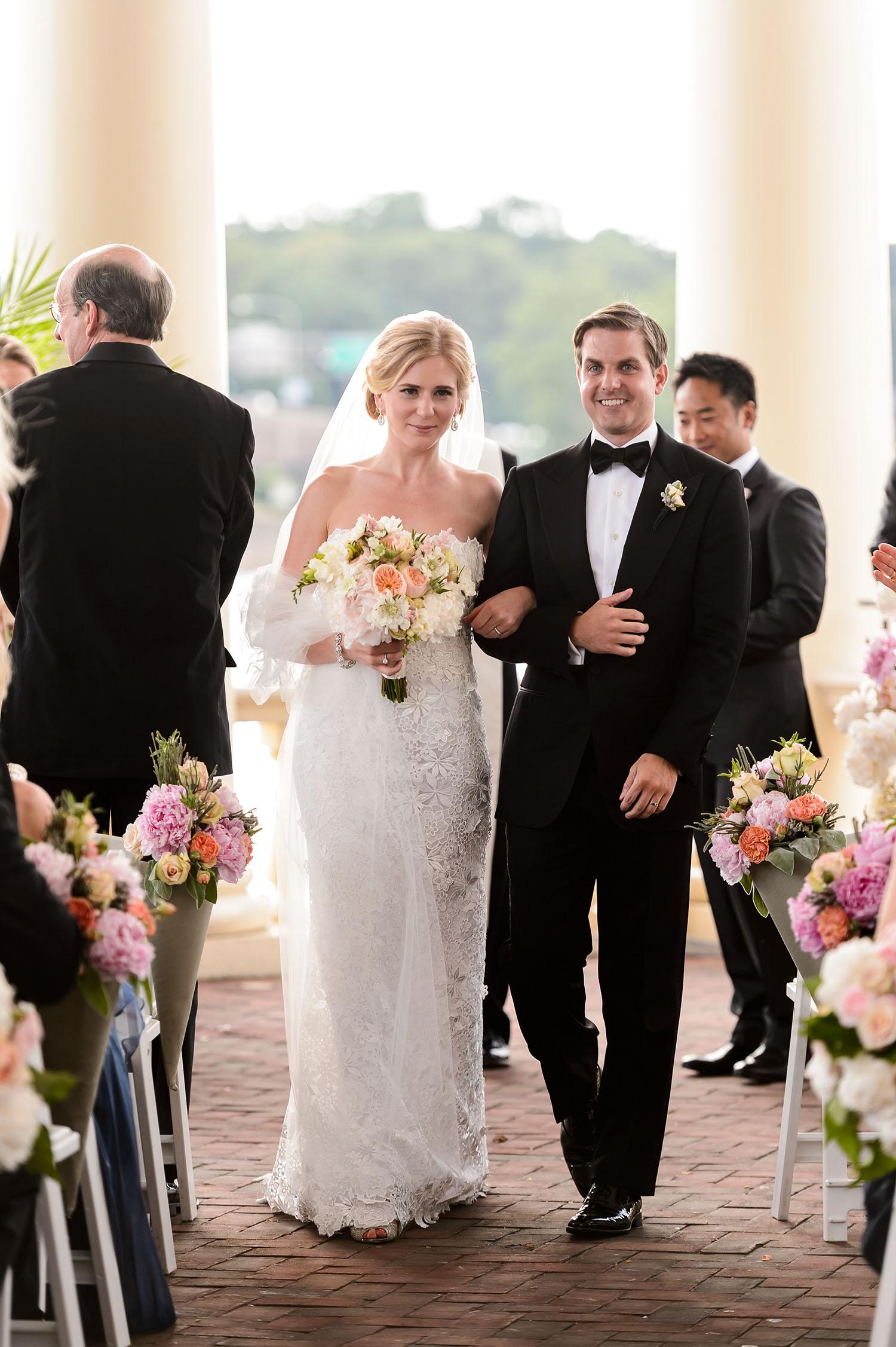 Susan Stripling  | Wedding Ceremony | The Water Works, Philadelphia, PA