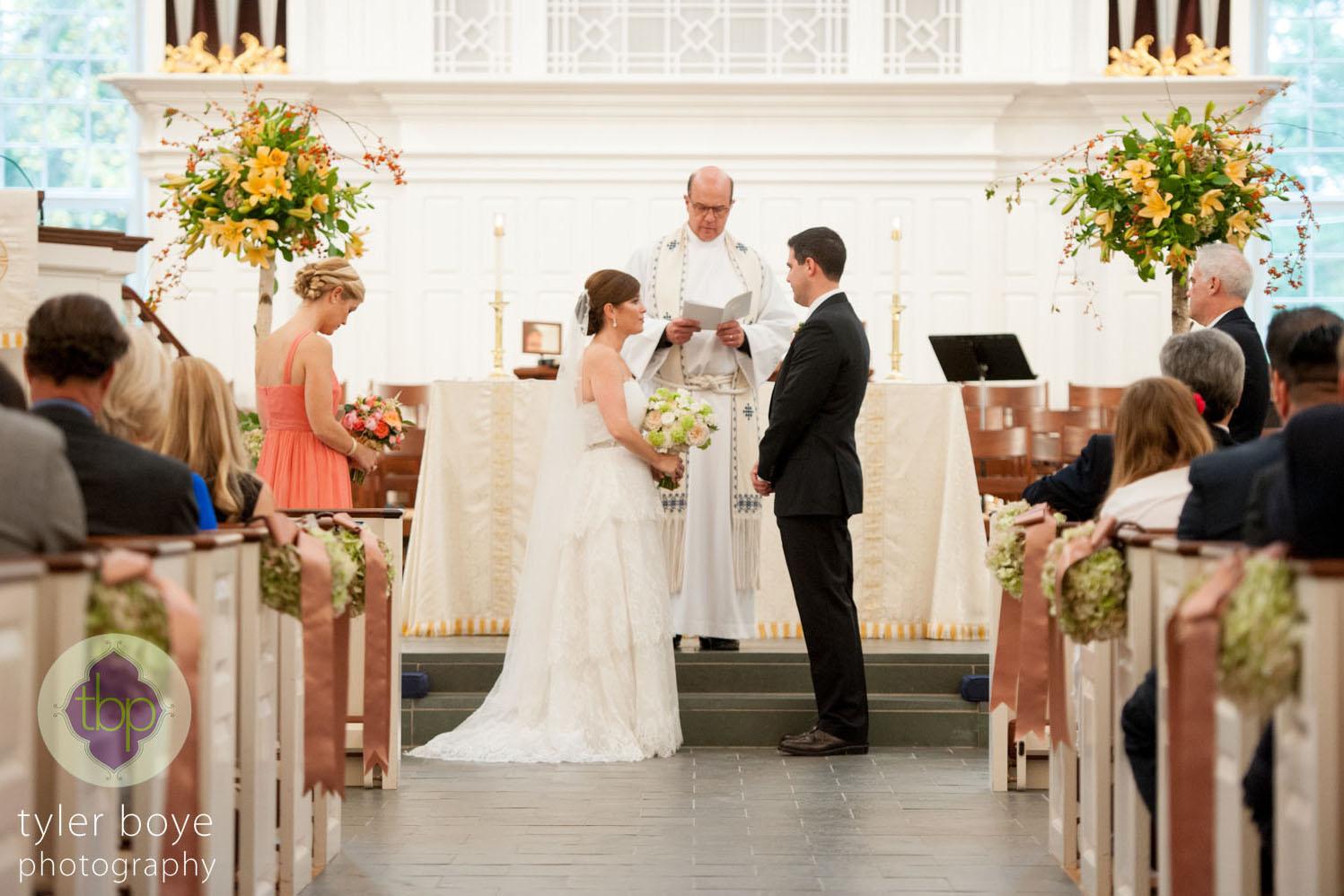 Tyler Boye Photography  | Wedding Ceremony | Saint David's Church, Wayne, PA