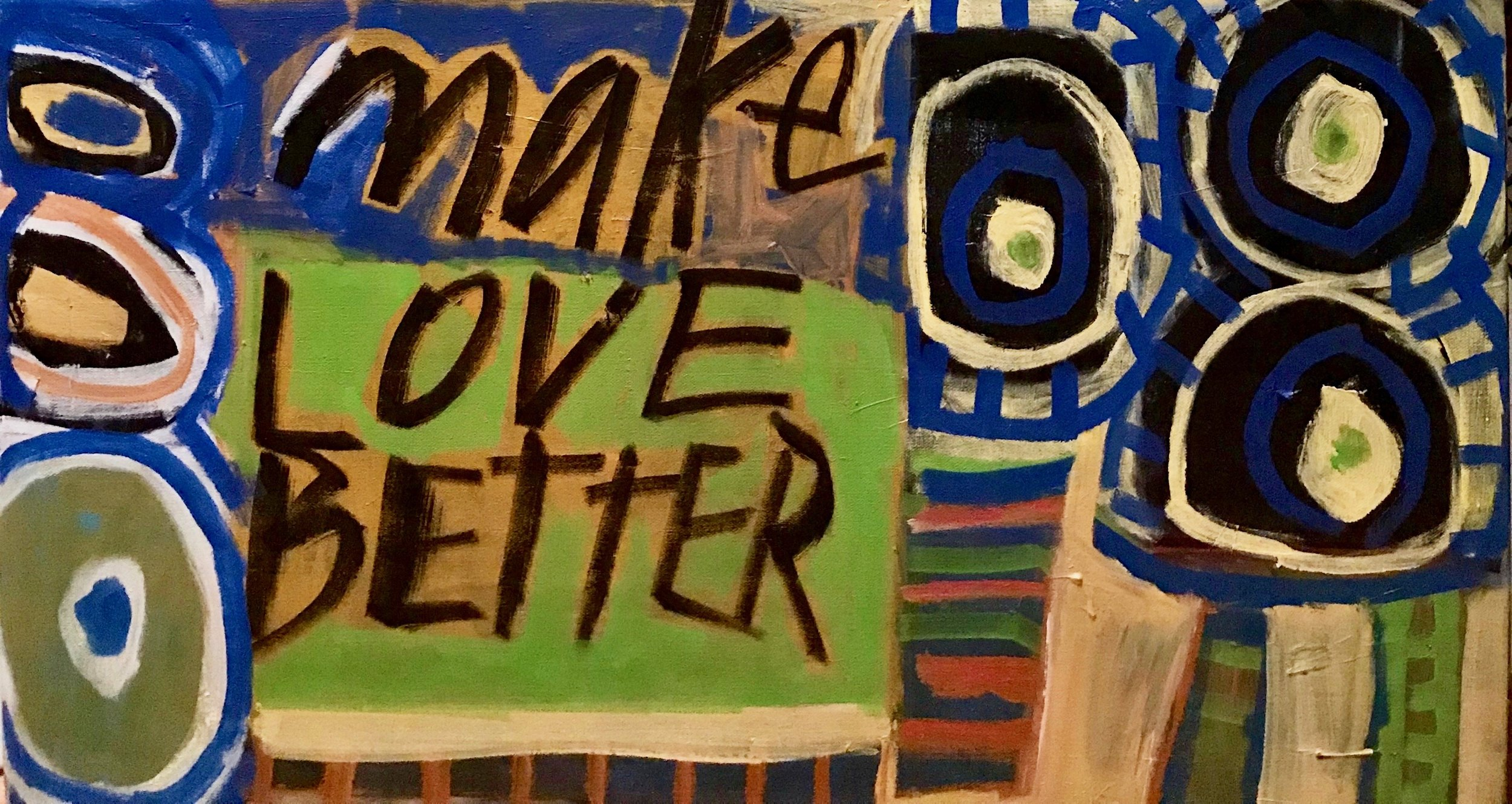 thumbnail of painting by Randee Levine, designer of book's title font