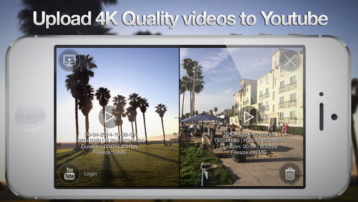 Upload 4K video til Youtube og vimeo