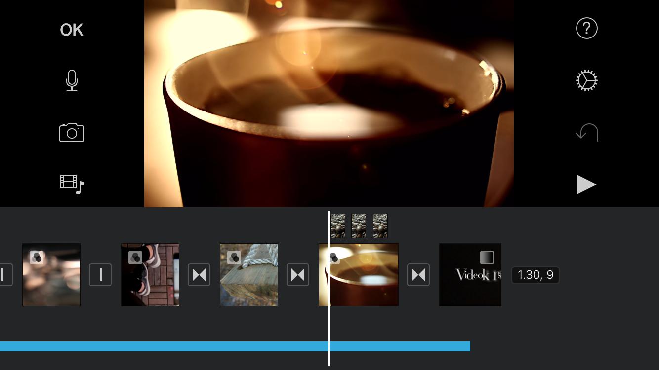 Rediger dine videoer i iMovie
