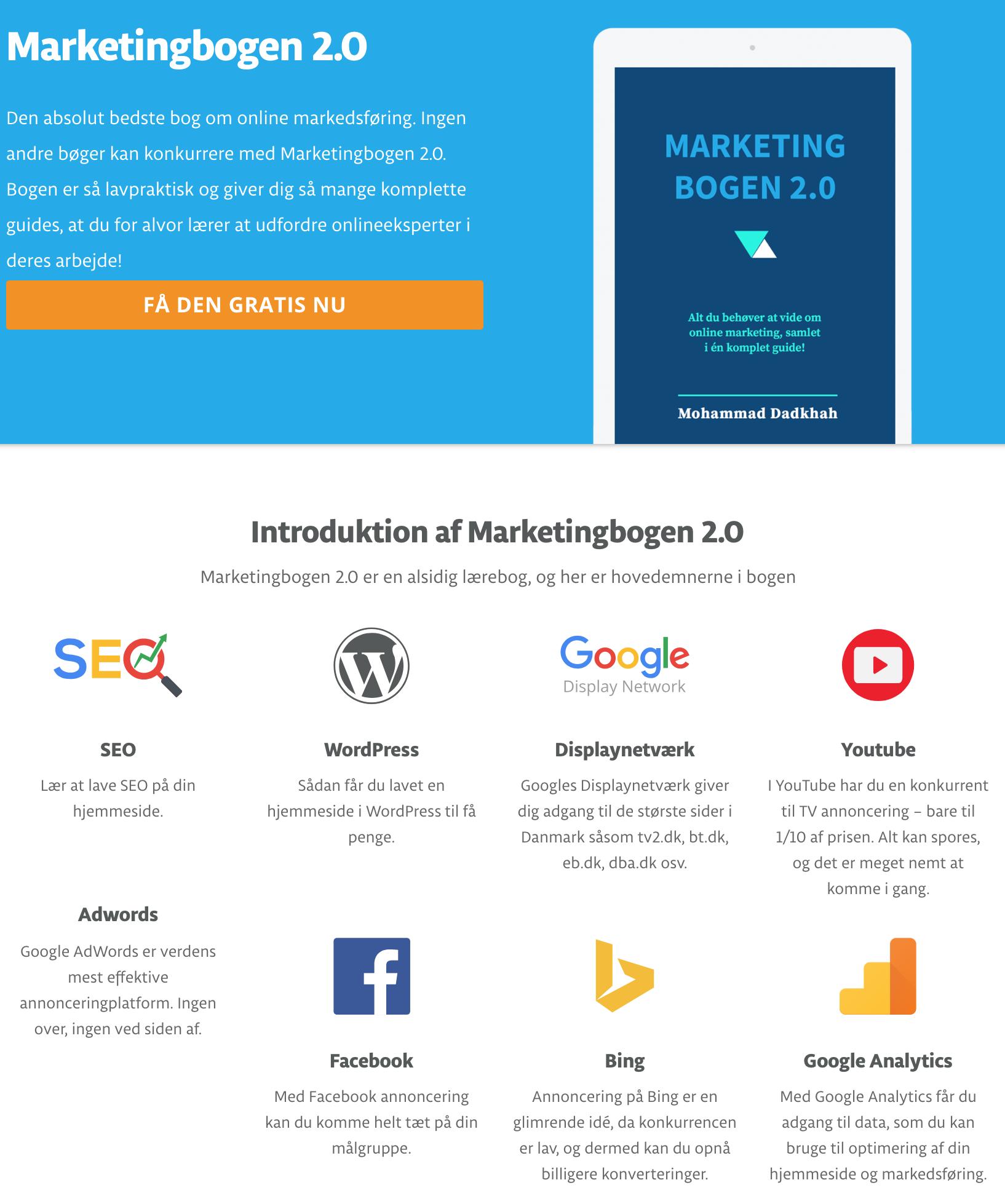Hent Marketingoigen 2.0 helt gratis
