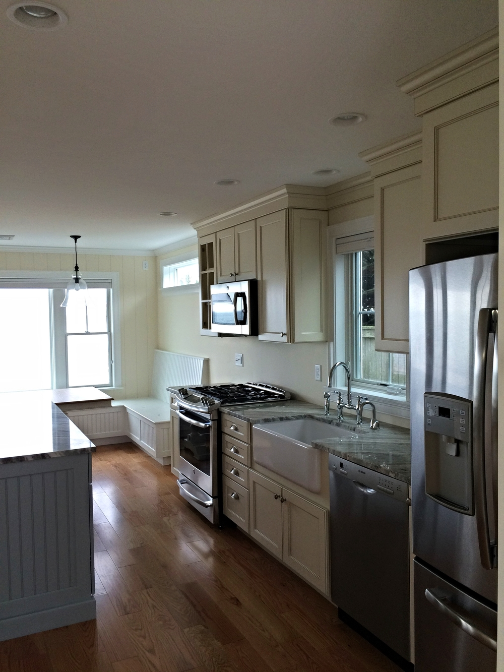 Kitchen Nantucket Sound beach House