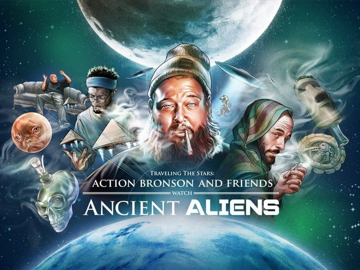 Traveling the Stars: Action Bronson & Friends Watch Ancient Aliens  - TV Series - VICELAND, 2016-2019  Editor