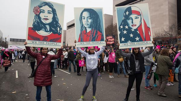 Viceland at the Women's March