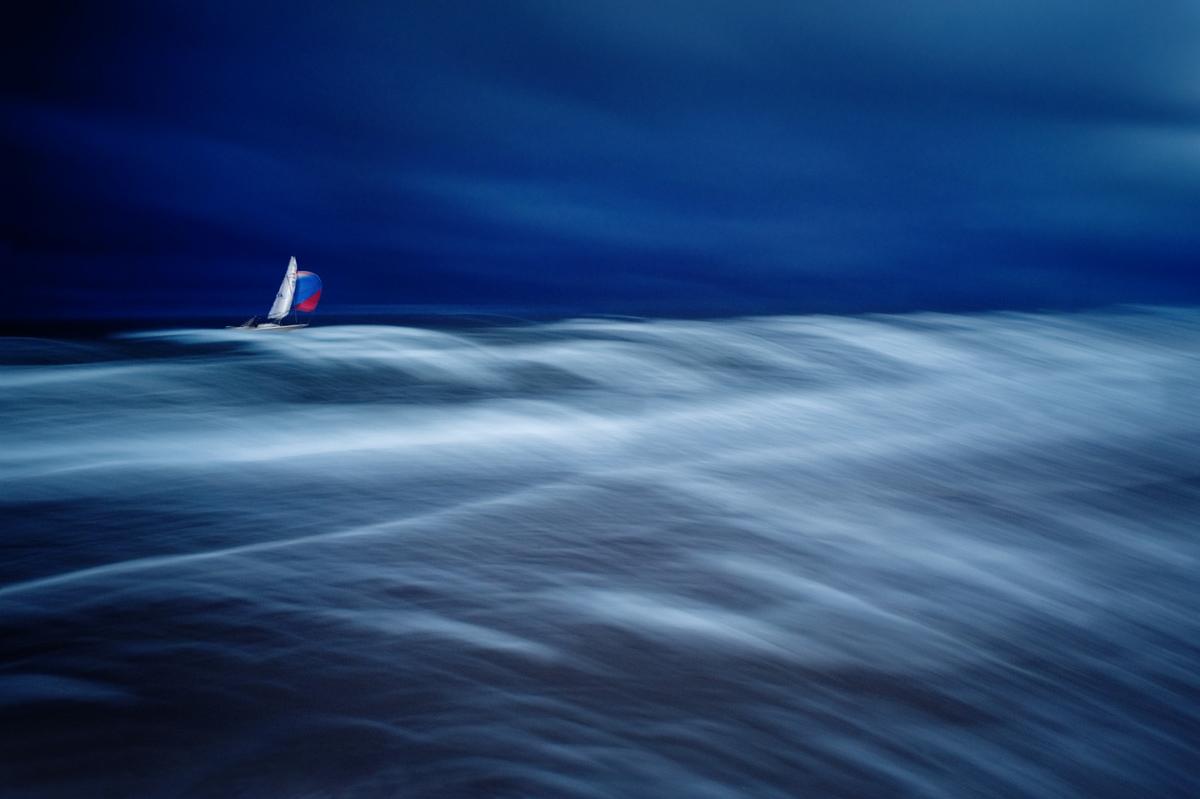 waves, water, sail