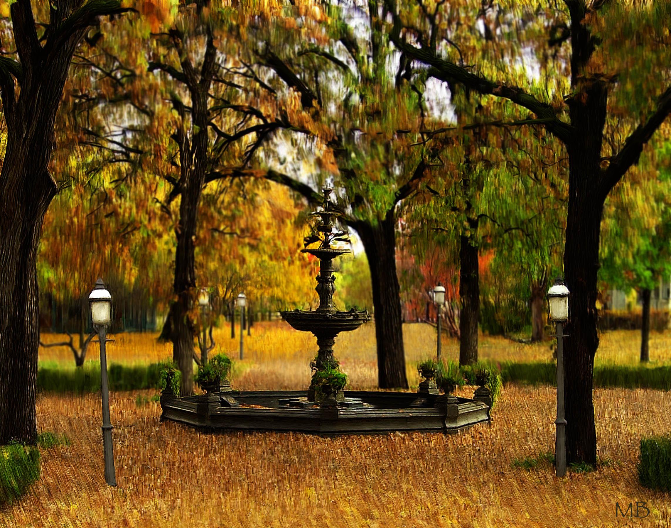 41.fall leaves fountain.jpg